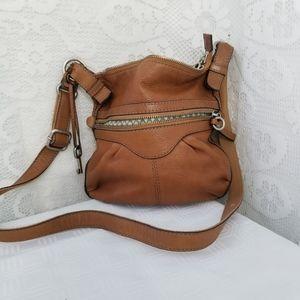 Fossil  Soft Leather Shoulder Bag